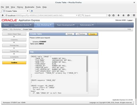 Oracle Create Table Primary Key by A Apex Create Table At Database Tutorial