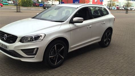 volvo xc60 white volvo xc60 d5 r design lux nav geartronic fl15euh youtube