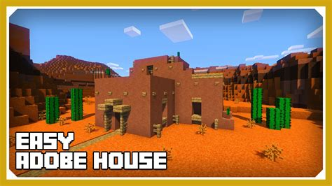 how to build a custom house minecraft how to build an adobe house tutorial easy