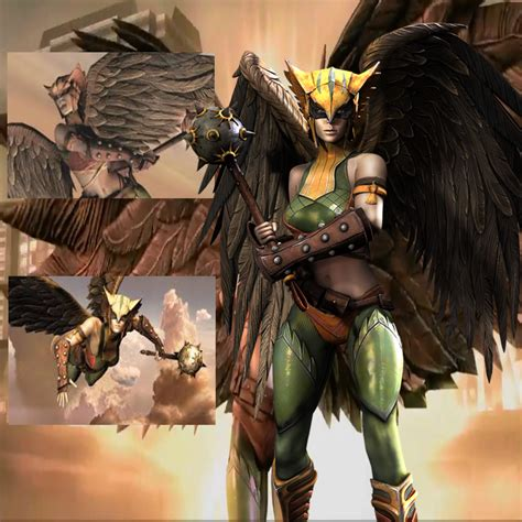 injustice gods among us hawkgirl regime injustice hawkgirl by batnight768 on deviantart