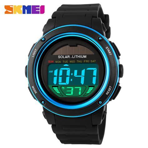 Best Seller Skmei Sport 1113 Original Water Resistant 50m 1 aliexpress buy skmei solar power sports watches shock digital chrono 50m water
