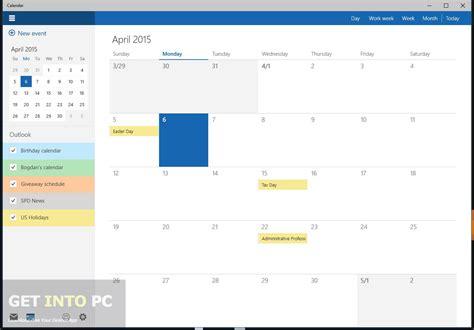 Calendar App For Windows Windows 10 Pro Iso Build 10051 64 Bit Free