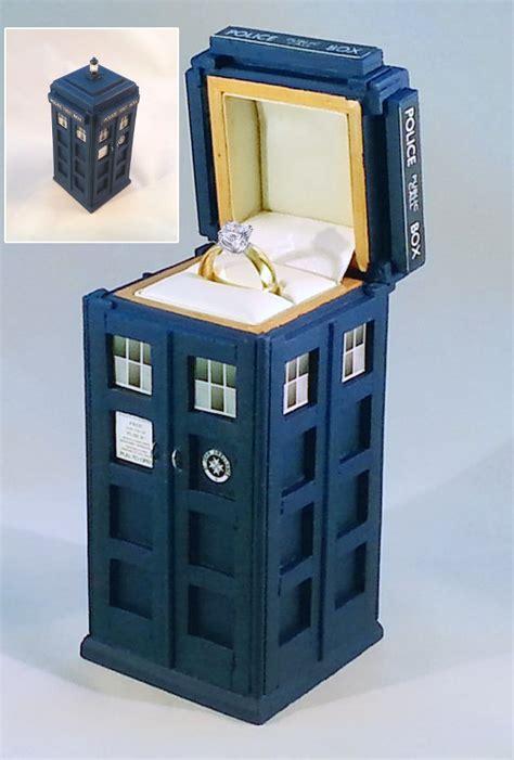 tardis box tardis ring box raggedyfan