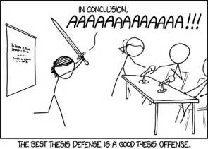 Defend A Thesis 1403 Thesis Defense Explain Xkcd