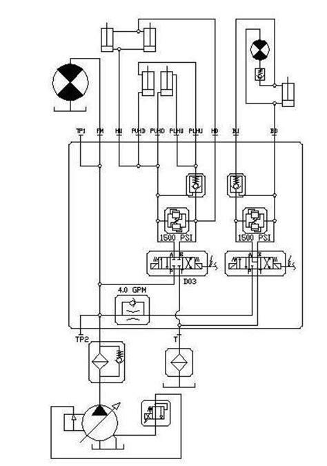 pneumatic diagram hydraulic schematic schematic diagram of the hydraulic