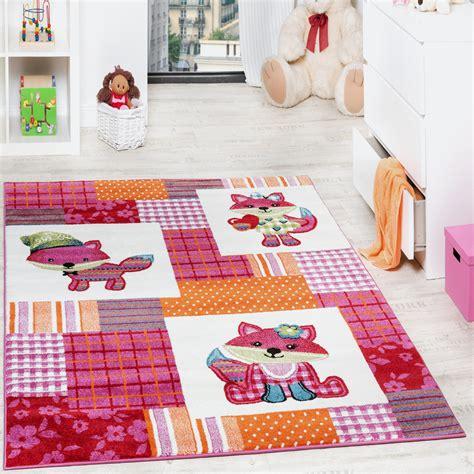 teppich kinderzimmer kinderteppich fuchs kinder teppiche