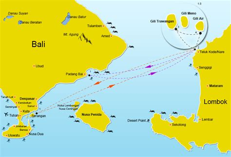 gili air boat schedule gili gili fast boat from serangan and padang bai to the