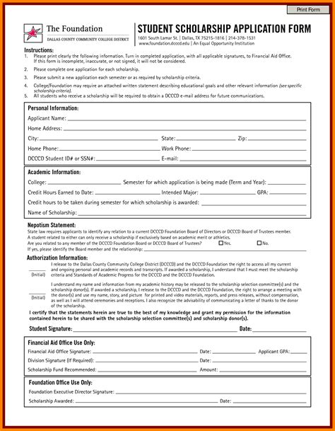 scholarship certificate template best free home