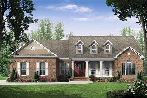 2000 square foot 2 story house plans traditional style house plan 3 beds 2 5 baths 2000 sq ft plan 21 197