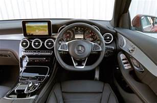 mercedes glc interior autocar