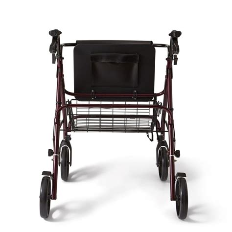 bariatric 2 wheeled walker with seat medline bariatric rollator walker seat 400 lb