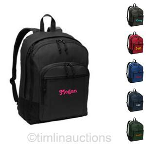 personalized monogrammed laptop back to school backpack