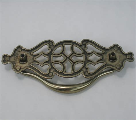 Fancy Drawer Pulls by Fancy Antique Brass Finish Metal Drawer Pull Handles For