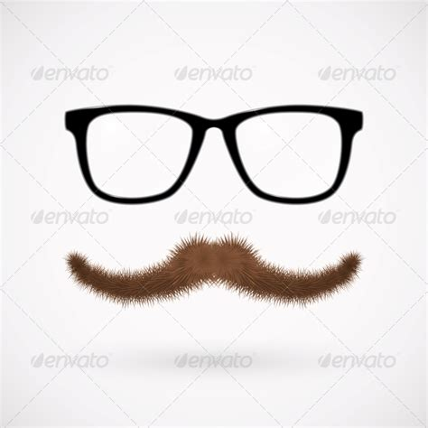 icon bald guy mustache glasses 187 tinkytyler org stock