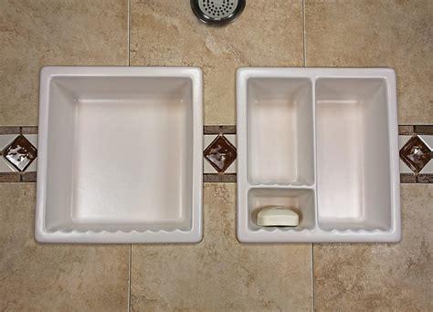 bathroom wall niche bathroom shoo soap shelf dish shower niche recessed tile ceramic porcelain corner