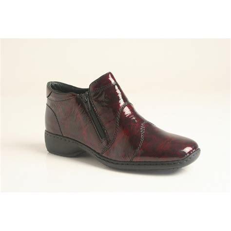 high cut shoes for rieker rieker high cut shoe in soft mottled patent