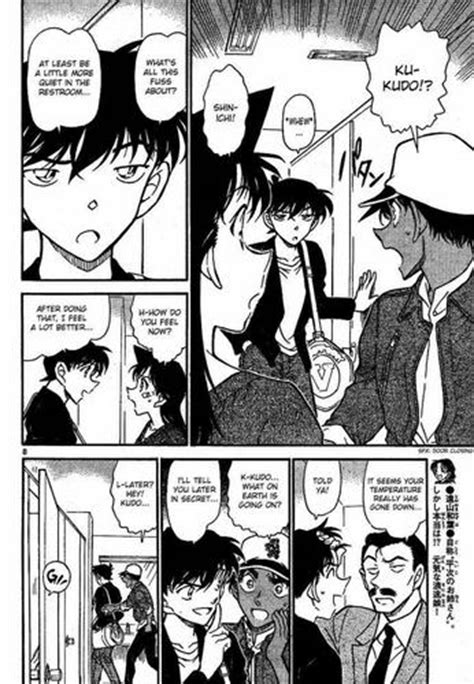 anime detektif terseru shinichi x ran images detective conan chapter 652 hd