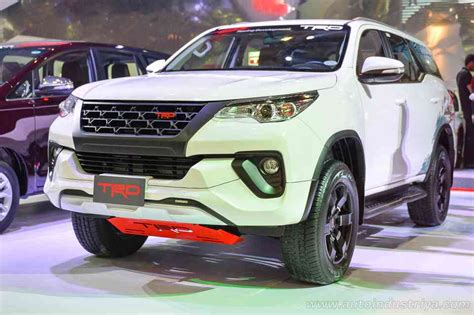 Kit Fortuner 2016 Mdl Lx Steel pims 2016 toyota spices up the fortuner with trd kit