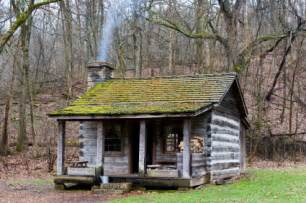 Small Hunting Cabin Plans Log Cabin Cabin Hillbilly Forest Log Appalachian