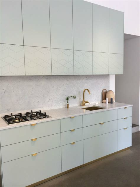 Different Colored Kitchen Cabinets by Ikea Hack Fronts Handles And Tops That Fit Ikea S