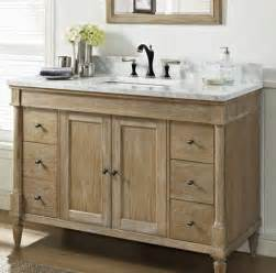 Fairmont Designs Bathroom Vanities Rustic Chic Weathered Oak 48 Quot Vanity Fairmont Designs