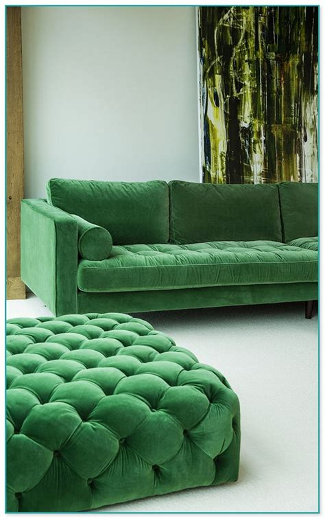 emerald green velvet sofa emerald green velvet sofa san francisco house tour green