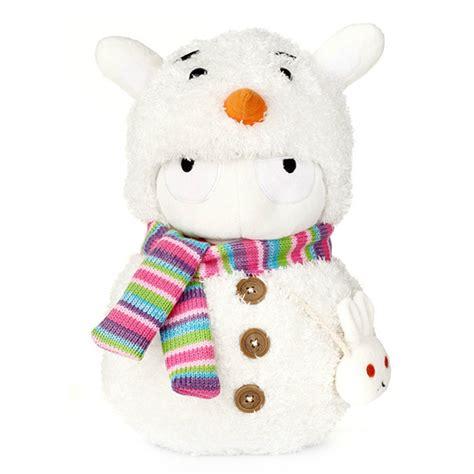 Boneka Bunny plush boneka xiaomi mi bunny snowman version white