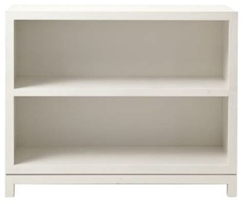 Caign 2 Shelf Bookcase White Traditional Two Shelf White Bookcase