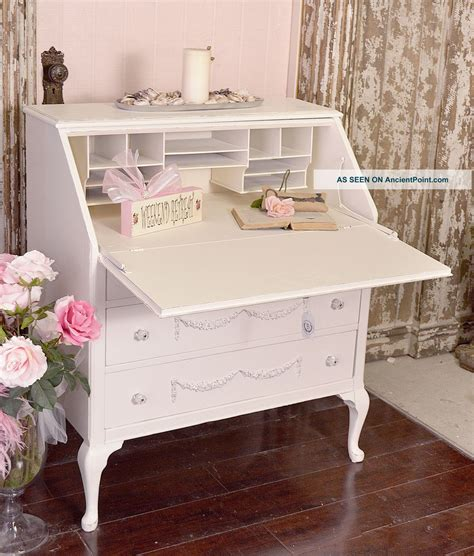 shabby chic secretary desk shabby chic secretary desk best home design 2018