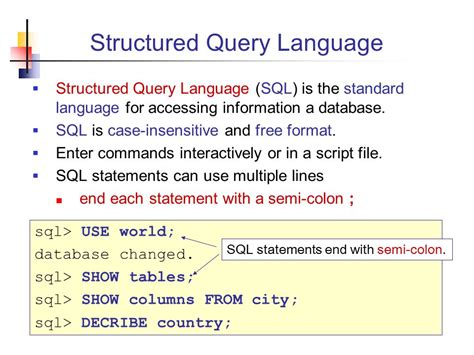 Sql Insensitive Search Database Access Using Sql Ppt