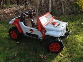jurassic park jeep hurricane modifiedpowerwheels