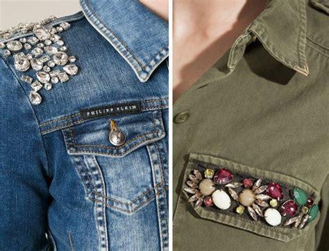 decorar jeans con botones m 225 s de 25 ideas incre 237 bles sobre chaquetas vaqueras en