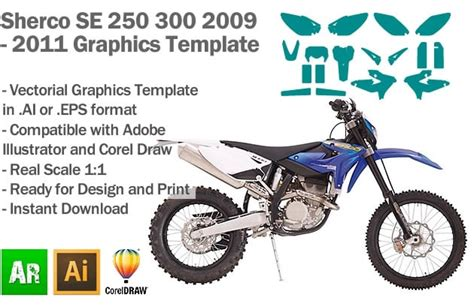 motocross graphics templates images