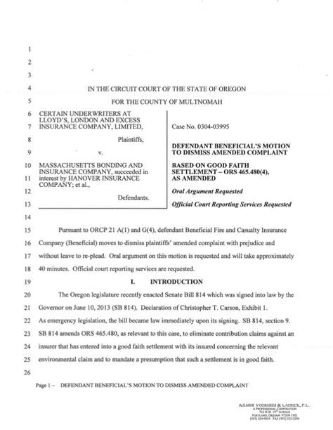 Letter Withdrawing Motion beneficial motion to dismiss based on sb 814