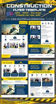 construction flyer templates free construction flyer templates flyer template