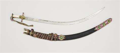 shamshir sword shiraz shamshir sabre scabbard bi knife and sword belt