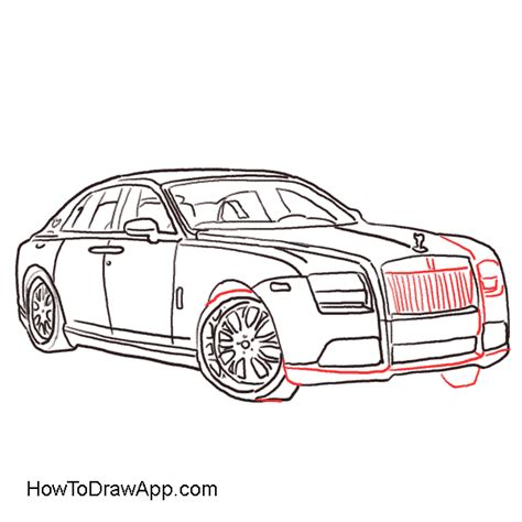 Bow Window Shades how to draw a rolls royce step by step a photo lesson