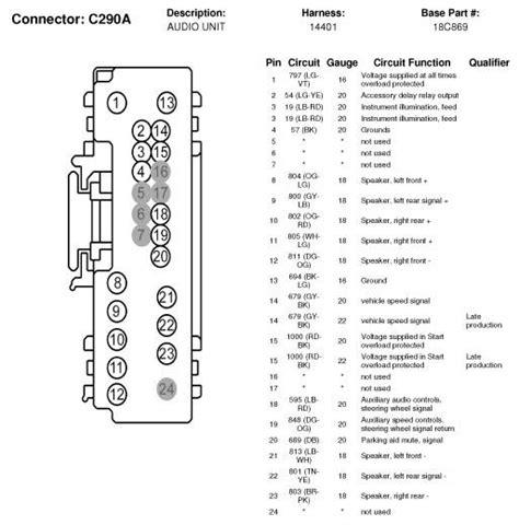 mazda tribute radio wiring diagram wiring diagram