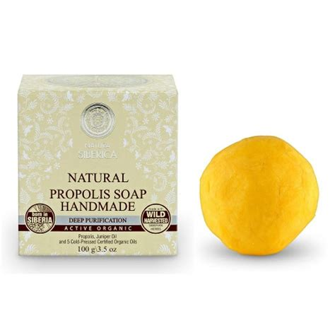 Organic Handmade Soap - natura siberica organic handmade propolis soap