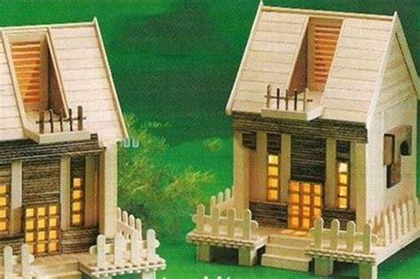 desain gambar es krim gambar miniatur rumah dari stik dan ide miniatur rumah