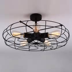 industrial ceiling fans with light industrial vintage metal fan pendant l steunk