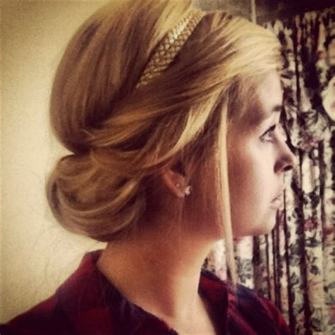 tuck in hairstyles 25 best ideas about headband tuck on pinterest headband