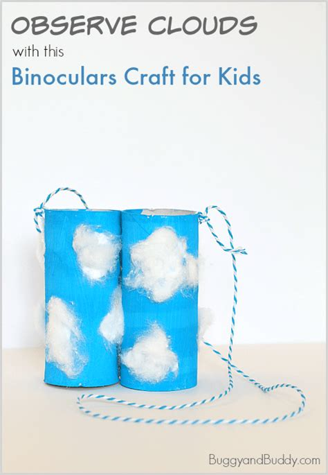 Toilet Paper Roll Binoculars Craft for Cloud Observation ... Empty Toilet Paper Roll Png