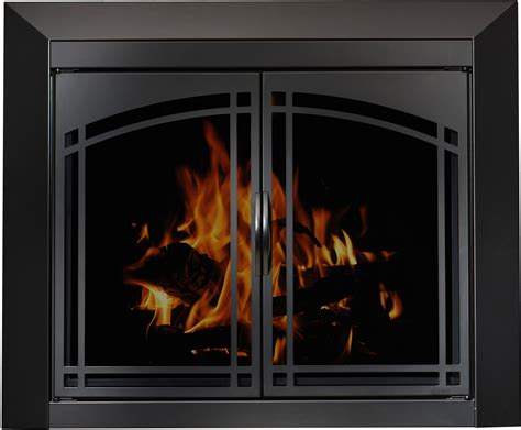 How To Use A Fireplace With Glass Doors by Tech X Direct Product Glass Doors For Wood Fireplaces