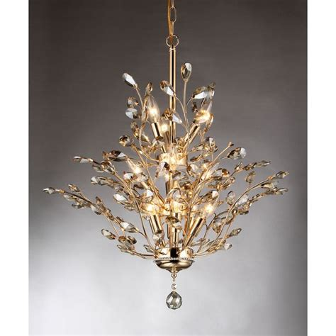 Definition Of Chandelier Gisell 13 Light Golden Leaf Like Chandelier By Warehouse Of The O Jays