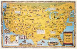 indians of the u s a a symbol showing historic locations