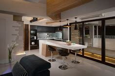Bold Wood Interiors by Kitchen Open Plan Living Combined Small Apartment Kitchen