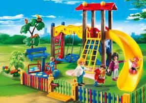 square pour enfants avec 5568 playmobil 174