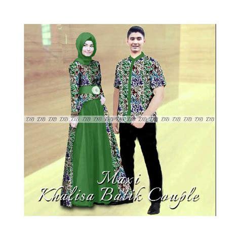 Baju 3in1 Gamis Cewek Busui Jilbab Kemeja Cowok maxi khalisa batik gamis sarimbit modern 2015