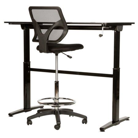 Stand Up Drafting Table Cool Living Adjustable Stand Up Home Office Desk Table Drafting Office Chair Walmart